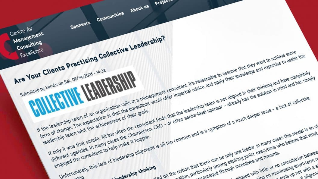 Collective Leadership